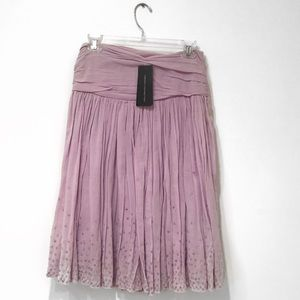 BRAND NEW | French Connection Purple Sequin Skirt